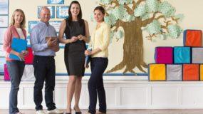 Graduates of University of West Florida's master's in educational leadership online program