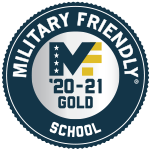 Military Friendly School 2020-2021 Gold