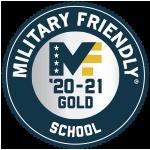 Military Friendly School 2020-2021 Gold